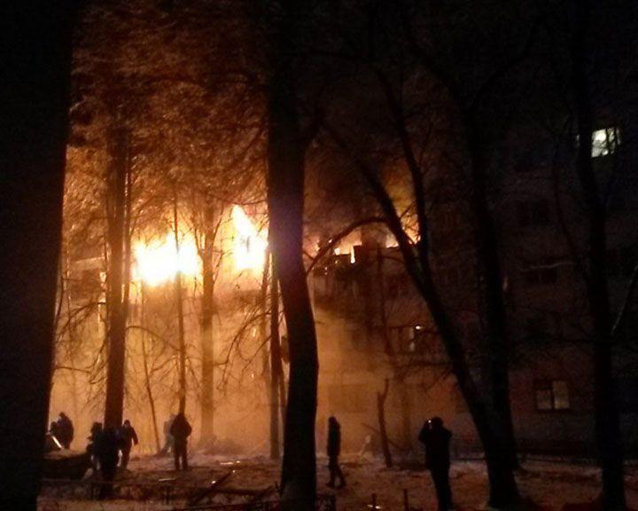 Пожар в Юго-западном районе ликвидирован. МЧС сообщило о пострадавших