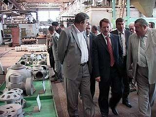 Правительство области поддержит Воронежский механический завод