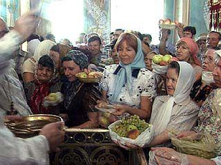 Православная церковь отметила Преображение Господне
