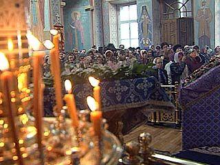 Православные христиане отмечают Благовещенье