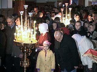Православные воронежцы отметили самый главный праздник - Пасху