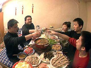 """Праздник """"четыре в одном"""" отметили воронежские китайцы"""