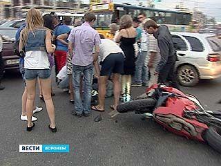 Праздники на воронежских дорогах выдались весьма аварийными