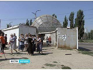 Предприниматели Остужевского мини-рынка отстаивали свои рабочие места