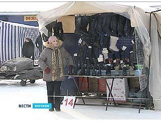 Предприниматели Центрального рынка обустраиваются на новом месте работы