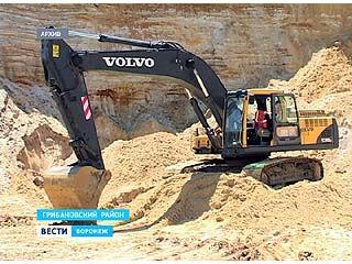 Предприятие, незаконно добывавшее песок возле села Карачан, оштрафовано