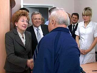 Председатель Фонда соцстраха посетила воронежский санаторий