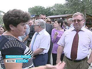 Председатель Счетной палаты России побывал с инспекцией в Лискинском районе