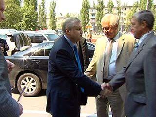 Председатель Совета Федерации Сергей Миронов посетил столицу Черноземья