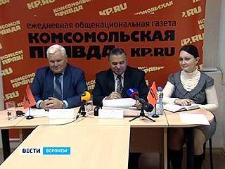 Председатель Воронежского избиркома Владимир Селянин встретился с журналистами