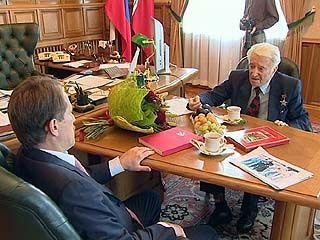 Председателю Воронежского совета ветеранов - 89 лет