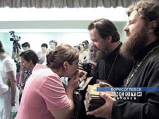 Представители духовенства и медики провели акцию