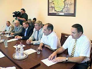Представители Ленинградской области прибыли в Воронеж