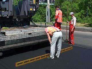 Представители мэрии лично инспектировали качество ремонта дорог