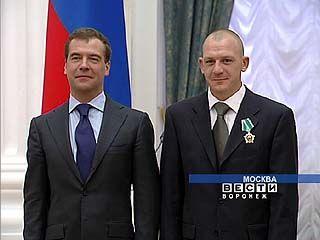 Президент России отметил Дмитрия Саутина за достижения в спорте