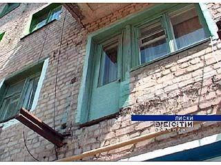 При обрушении балкона 84-хлетняя женщина чудом осталась жива
