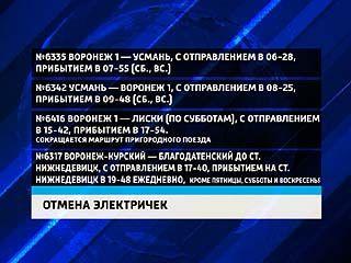 """""""Пригородная пассажирская компания"""" объявила о закрытии ещё четырёх электричек"""
