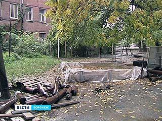 Приём отремонтированных в Воронеже дворов затягивается