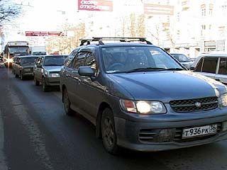 Пробок в центре Воронежа станет ещё больше