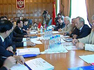 Продолжается рабочий визит китайской делегации в Воронеже