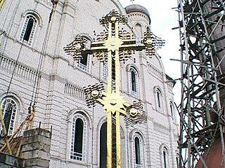 Продолжается строительство Благовещенского кафедрального собора