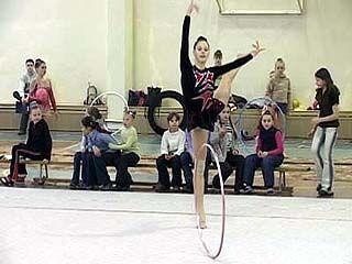 Прошел чемпионат области по художественной гимнастике