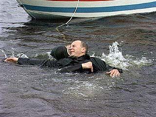 Прошли широкомасштабные учения спасателей на воде