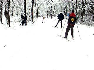 Прошли соревнования по лыжным гонкам среди детей-инвалидов