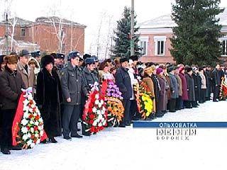 Прошло 65 лет со дня освобождения Ольховатки от фашистских захватчиков