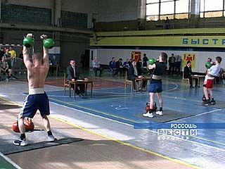 Прошло первенство области по тяжелой атлетике среди молодежи