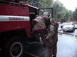 Противопожарная служба и в свой праздник работает как в будни
