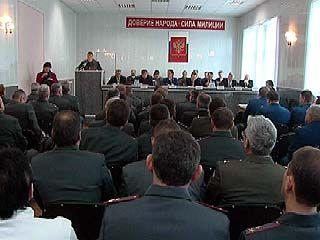 Проведение выборов стало главной темой на совещании ГУВД