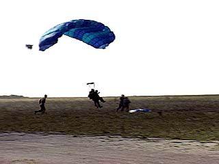 Прыжок с парашютом - тоже работа