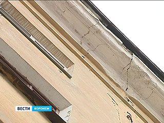 Пятиэтажка в центре Воронежа в любой момент может разломиться пополам