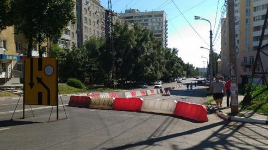 Воронежский мехзавод: «Ремонт теплотрассы на улице Моисеева был согласован с мэрией»