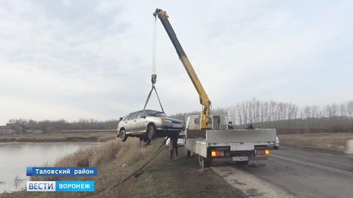 В Воронежской области водитель упавшей в пруд машины ответит за гибель девочки и женщин