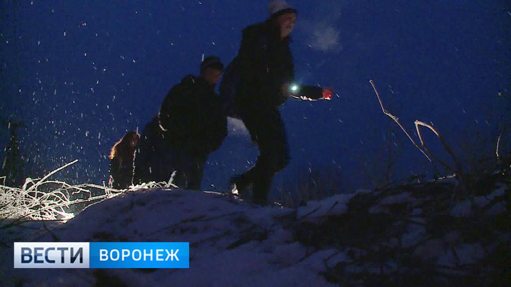 Под Воронежем дети ходят в школу по экстремальному маршруту
