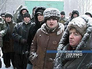 """Рабочие совхоза """"Большевик"""" продолжают забастовку"""