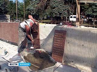 Работы на Памятнике Славы продолжаются