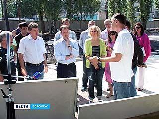 Работы по благоустройству Воронежа продолжатся и после юбилея города