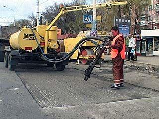 Работы по ремонту дорог ведутся в соответствии с графиком