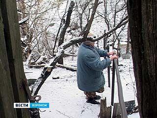 Работы по укреплению грунта на улице Красненькой так и не начались