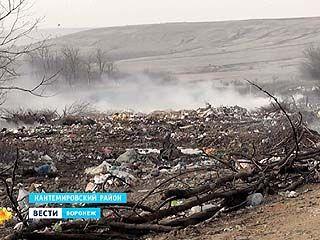 Районы Воронежской области утопают в мусоре