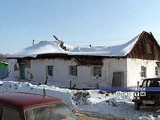 Разрушительный снегопад прошел в Лисках