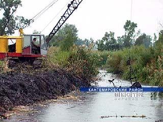 Река, протекающая через Кантемировку, станет глубже и шире
