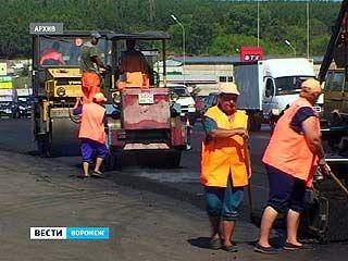 Реконструкция центральных улиц Воронежа близка к завершению