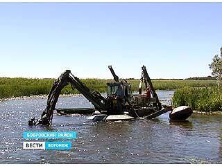 Рельеф дна реки Битюг в Бобровском районе будет другим