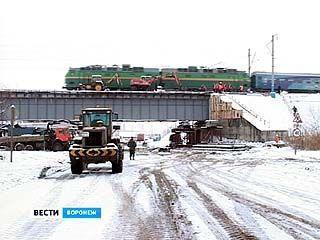 Ремонт железнодорожного моста продолжится в следующем году