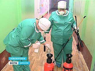 Режим чрезвычайной ситуации в Нововоронеже отменён, в школе проведена дезинфекция