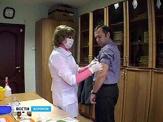 Роспотребнадзор призывает воронежцев делать прививки от гриппа